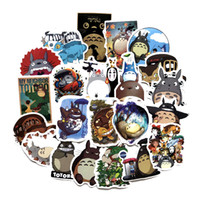 Wholesale cute japanese phones for sale - Group buy 50 Japanese Movie My Neighbor Totoro Cute Stickers For Car Laptop Phone Bicycle Luggage Decal DIY Toy Sticker For Kids