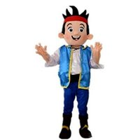 disfraces de personajes de chico al por mayor-Descuento venta de fábrica 2019 Jack boy trajes de mascota personaje de dibujos animados adulto Sz Imagen real