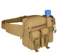 sacos do mensageiro do exército para homens venda por atacado-Protector Plus Men À Prova D 'Água de Bolso Saco de Cintura de Nylon Portátil Messenger Bag Homens Sacos de Telefone Móvel Do Exército Pacote de Água Frete Grátis