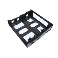 Wholesale front bay floppy resale online - 5 To Floppy To Optical Drive Bay Mounting Bracket Converter For Front Panel Hub Card Reader Fan Speed Controller