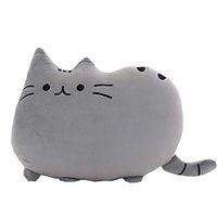 büyük peluş kedi toptan satış-50cm Pusheen Kedi Peluş Oyuncak Yastık Yastık plushies Doldurulmuş Hayvanlar Dev Big Büyük Yumuşak Bebekler Yılbaşı Hediyeleri Çocuk Çocuk Bebek Sevimli