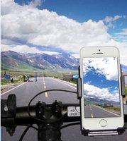 suporte de navegação venda por atacado-Titular da bicicleta do telefone universal 360 rotativo suporte de bicicleta ciclismo caso de navegação para iphone 5s 6 s 7 plus para samsung s7 s6 s4 j3