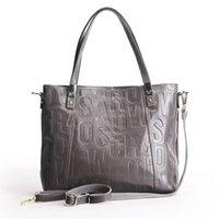 senhora escura venda por atacado-Zency luxo feminina Shoulder Bag 100% Couro Natural Moda Cinzento Mensageiro Lady Charme Dark Red Handbag Crossbody Bolsa D18101303