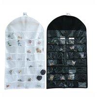 ingrosso deposito di gioielli-32 Tasche Biadesivo per gioielli Espositore per gioielli Espositore per gioielli