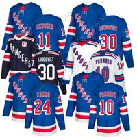 36 jersey venda por atacado-2019 Hóquei Rangers Jersey 10 Artemi Panarin 24 Kaapo Kakko 11 Mark Messier 30 Henrik Lundqvist 36 Mats Winter Classic Zuccarello