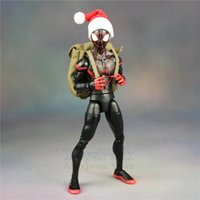 Wholesale spider man movie doll toys resale online - Marvel Games Figures Spiderman Into The Spider Verse Cartoon Movie quot Action Figure Peter Parker Man Miles Morales Gwen Legends Doll Toys