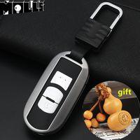 mazda araba anahtarı kabuğu toptan satış-Çinko alaşım Araba Anahtarı Kapağı Durumda Kabuk için Mazda 3 Axela CX-5 CX-4 CX-7 CX-9 Atenza anahtar kutu