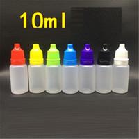 fabricants de bouteilles en plastique achat en gros de-Fabricant en gros 10 ml millilitre haute qualité collyre gouttes bouteille gouttes collyre bouteille en plastique gouttes d'eau bouteille D0074