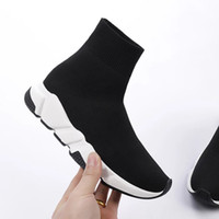 Wholesale cheap sneakers for sale - Designer Luxury Brand Sock Shoes Black White casual Shoes For Men New Gypsophila Cheap Trainers Women Boots Sneakers