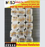 ingrosso fabbrica di mele oem-ULTIMO AGGIORNAMENTO prezzo di fabbrica OEM per iphone xs max xr ios 12.4 ios12.3.2 12.x sblocco chip sim card con WHITE BLANK BOX imballaggio al dettaglio