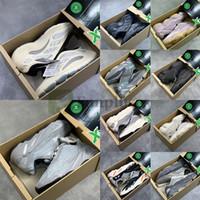 Wholesale soft rubber shoes resale online - New Kanye West V3 Azael Alvah Hospital Static Magnet wave runner Running Shoes Soft Vision Black Bone Sport Sneaker With Box Stockx