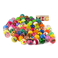 Wholesale bouncy toys for kids for sale - Group buy DHL Diameter mm Rubber Novelty Balls Funny Toy Bouncy Ball Picture Bouncing Ball for Kids Decompression Toys Amusement Toys Bounce Ball