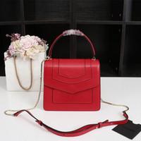 ledertasche großhandel-Designer Luxus-Einkaufstasche 2019 Marke Organ drei-Schicht-klassische Handtasche aus hochwertigem Leder Damen Messenger Bag