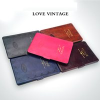 Wholesale electric tablets online - Paperwhite1 generation shell electric tablet case covers paper book dormant retro magic book Kindle Leather case