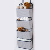 pañal de cuna al por mayor-Bebés de múltiples capas desechables bolsa de almacenamiento de pañales cuna de bebé colgando bolsa de bebé recién nacido organizador biberón titular de la botella de alimentación