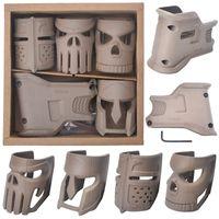 juguetes de revistas al por mayor-A Box estilos múltiples táctico Crystal bomba Juguete Accesorios AR-15 Revista Máscara de agarre de polímero reforzado construcción mejorada Aspecto