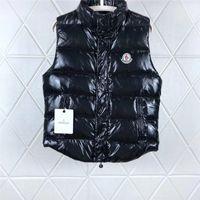 kalın yelek toptan satış-Wen Tasarımcı Ceket Yelekler Aşağı Ceket Kapüşonlu Aydınlık Su Geçirmez Erkekler Ve Kadınlar Için Marka Rüzgarlık Lüks Hoodie Ceket Kalın