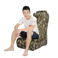Wholesale lazy chairs beds resale online - New Fast Folding Garden Sofas Waterproof Inflatable Bag Lazy Sofa Camping Sleeping Bags Air Bed Adult Beach Lounge Chair