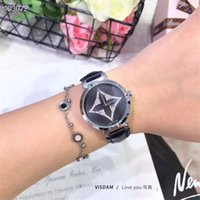 Wholesale watch women simple design resale online - Louis Vuitton watchs simple casual design style elegant dignified mature woman watch strap limited edition sale Watches