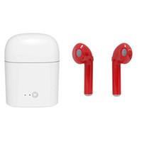 беспроводные затычки для ушей оптовых-Новый i7 I7s Близнецы bluetooth-гарнитура i8x bluetooth-гарнитура earplug стерео 4.2 беспроводная Bluetooth-гарнитура наушники для iphone