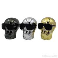 Wholesale head bluetooth for sale - Group buy M29Wireless Bluetooth Smiley skull Head Speaker Bass Stereo Music Player USB Portable Wireless Bluetooth Speaker gift speake