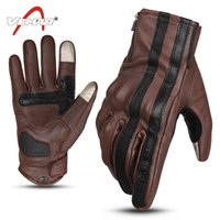 New leather male racing off-road gloves bicycle knight gloves motorcycle full-finger gloves cycling anti-fall gloves waterproof 2 colors