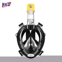 Wholesale camera panoramic view for sale - RKD Floating Panoramic View Anti fog Full Face Diving Mask with Camera Support