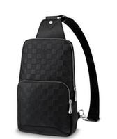 cartera maletín al por mayor-2019 AVENUE SLING BAG N41720 Hombre Bolsas de Mensajero Hombro Cinturón Bolso Totalizadores Cartera Maletines Duffle Equipaje