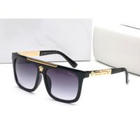vendas polaroidas venda por atacado-Marca de moda óculos de sol designer de luxo homem medusa moda óculos de sol clássico quadro quadrado conjunto completo de embalagem 2019 venda quente