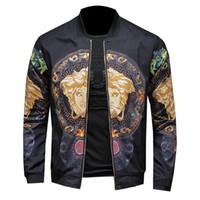 jaquetas de homens de qualidade venda por atacado-2019 Nova Moda Jaqueta de Alta Qualidade de Luxo Fino e Leve Casual de Alta Qualidade Fino Mens Designer Jaquetas Mais M-6XL