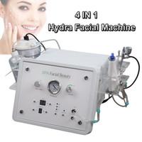 mikrodermabrasion maschinen kristalle großhandel-Hydra Gesichts-Dermabrasion Maschine Kristall Diamant Microdermabrasion Gesichtsreinigung Maschine Intraceuticals Sauerstoff Gesichts Maschine Facelift