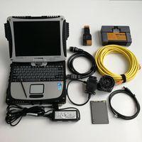 oto aletleri toptan satış-BMW ICOM A2 + B + C Otomatik Teşhis Programlama Aracı ICOM A2 ICOM CF19 CF-19 Toughbook Dizüstü ve 480 GB ile SSD V09.2019 Soft-ware