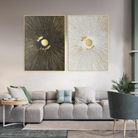 Wholesale oil painting for wall decoration resale online - Handmade High Quality Abstract Knife painting abastract painting For Wall Decoration a