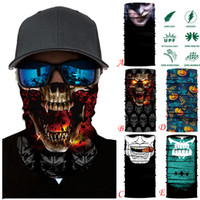 Wholesale masks personalities for sale - Group buy Multicolor motorcycle cycling face mask fashion pattern head neck scarf personality sytle hat wind proof antidust mask