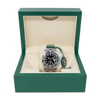 reloj de lujo para hombre sub al por mayor-Versión mejorada de lujo Sub Date Dial Ceramic Date 116610LN 40mm CAL.2813 Sapphire automático para hombre Reloj impermeable Juego completo en caja PJ3