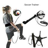 Soccer Ball Juggle Bags Children Auxiliary Circling Belt Kids Football Training Equipment Kick Solo Soccer Trainer Football Kick Juggle Bag
