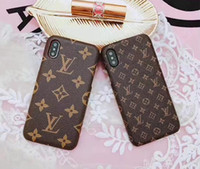 kreditkarten-turm brieftasche großhandel-Luxus telefon zurück case für iphone x xr xs max 8 7 6 6 s plus 5 s se samsung s8 s9 s10 s10 plus s7 rand hinweis 9 mode geschenk leder hard cover