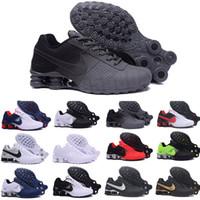 Wholesale men athletic boots resale online - 2020 New Men Women Air Running Shoes Famous OZ NZ Mens Athletic Sneakers Sports Running Shoes O7854