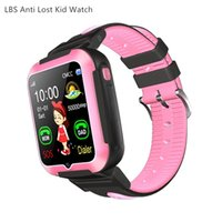Wholesale waterproof wrist mobile phone for sale – best e7 student kids smart watch smart bracelet sports watch IP67 waterproof lbs anti lost tracker sns notification for ios Android mobile phone