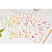 convites adoráveis venda por atacado-5 Unidades / pacote Adorável Pequena Fruta Fresca Envelope de Papel Kawaii Pequeno Presente Do Bebê Artesanato Envelopes para Convites Carta Do Casamento