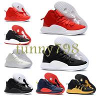vagues de basketball achat en gros de-2019 Designer paniers hommes PG Wave Runner Hypedunk X Paul George mens Formation meilleure qualité rétro chaussures Sneakers