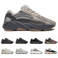 ingrosso calzature calde di moda-yeezy boost 700 v2 Con scatola Hot scarpe da corsa per uomo donna Utility Nero Vanta Tephra Analog Wave Runner moda uomo scarpe da ginnastica sneakers sportive