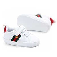 Wholesale shoe soling resale online - Baby Boy Shoes Infant Toddler Soft Sole Prewalker Sneakers Baby Girl Crib Shoes Months