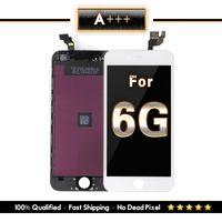 digitalizador iphone pixel muerto al por mayor-Grado A +++ para iPhone 6 LCD y pantalla táctil Digitalizador Ensamblaje Reemplazo Marco resistente Sin píxeles muertos Envío gratis