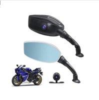 sürücü p toptan satış-Motosiklet DVR 1080 P tek Çift Kamera Sürüş Kaydedici çift kayıt gizli sürüş kaydedici Motosiklet sürüş kaydedici LJJK1534