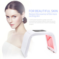 Korea OMEGA 7 colors PDT LED light therapy for skin care photon pdt Wrinkle Removal Beauty Machine
