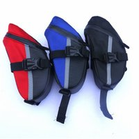 Wholesale saddle color online - New Bike Saddle Bag Seat Bags Bicycle Tool Kit Bags Essential For Outdoor Cycling Wear Resistant Lightweight Portable Multi Color ykG1