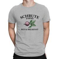 lits tvs achat en gros de-Fermes de Schrute - lit et déjeuner le tshirt de comédie de bureau Dwight TV Comedy