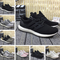 Wholesale oreo sneakers for sale resale online - Hot Sale Ultra Running Shoes for men women Triple black white Oreo Designer Sports mens trainers Sneakers size