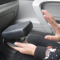 Wholesale 12v hot fan resale online - Car Heater v Car Heater Defogging Defrosting Accessories Warm Fan Defroster Hot